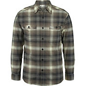 Wolverine Men's Grayson Stretch Long Sleeve Flannel Shirt