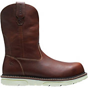 Wolverine Men's I-90 DuraShocks Wellington Wedge 10'' Composite Toe Work Boots