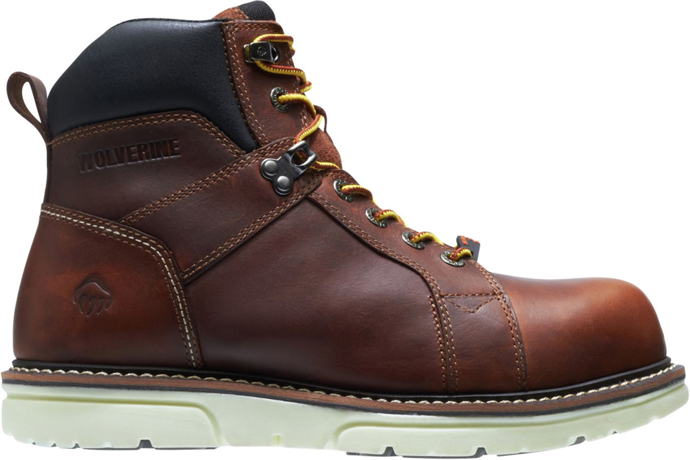 Wolverine Men's I-90 DuraShocks Wedge 6'' Composite Toe Work Boots