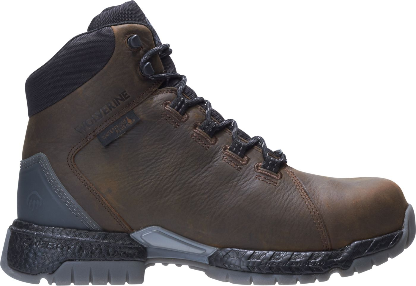 Wolverine Men's I-90 Rush Waterproof Composite Toe Work Boots