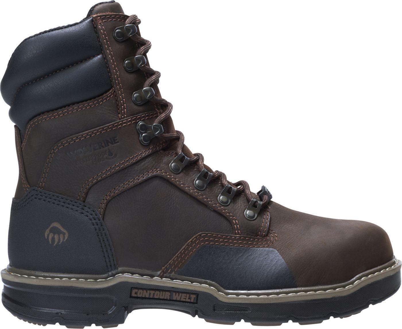 Wolverine Men's Bandit 8'' 600g Waterproof Composite Toe Work Boots