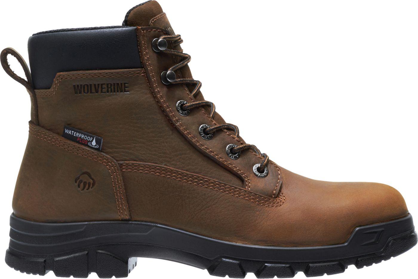 Wolverine Men's Chainhand EPX 6'' Steel Toe Waterproof Work Boots