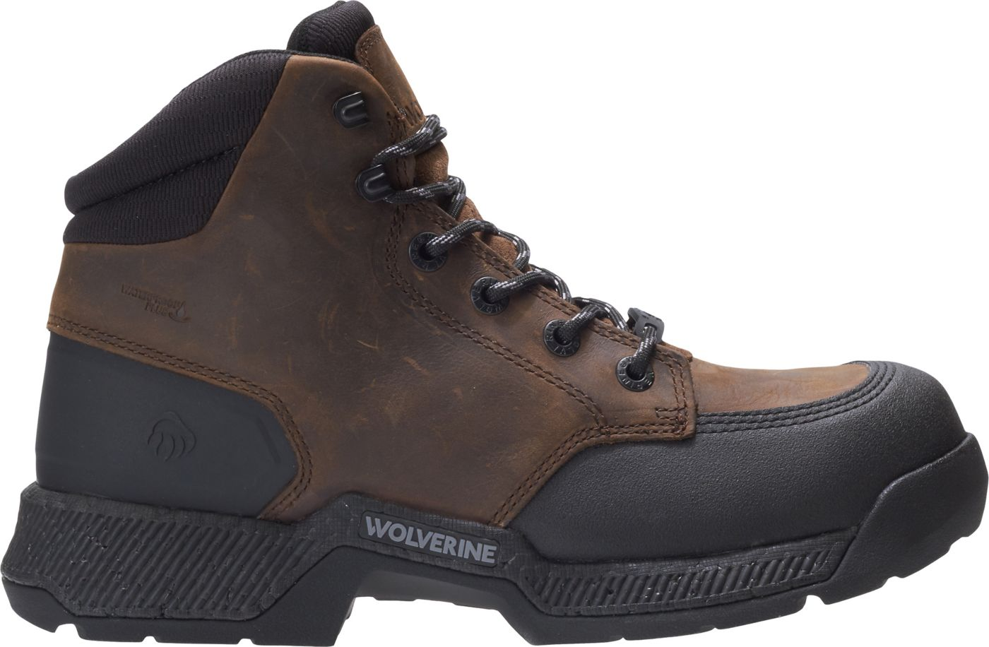 Wolverine Men's Carom 6'' Waterproof Composite Toe Work Boots