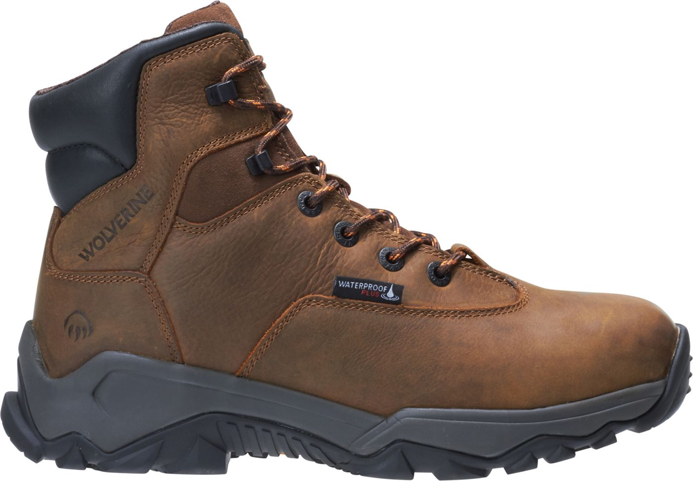 Wolverine Men's Glacier II 6'' 400g Waterproof Composite Toe Work Boots