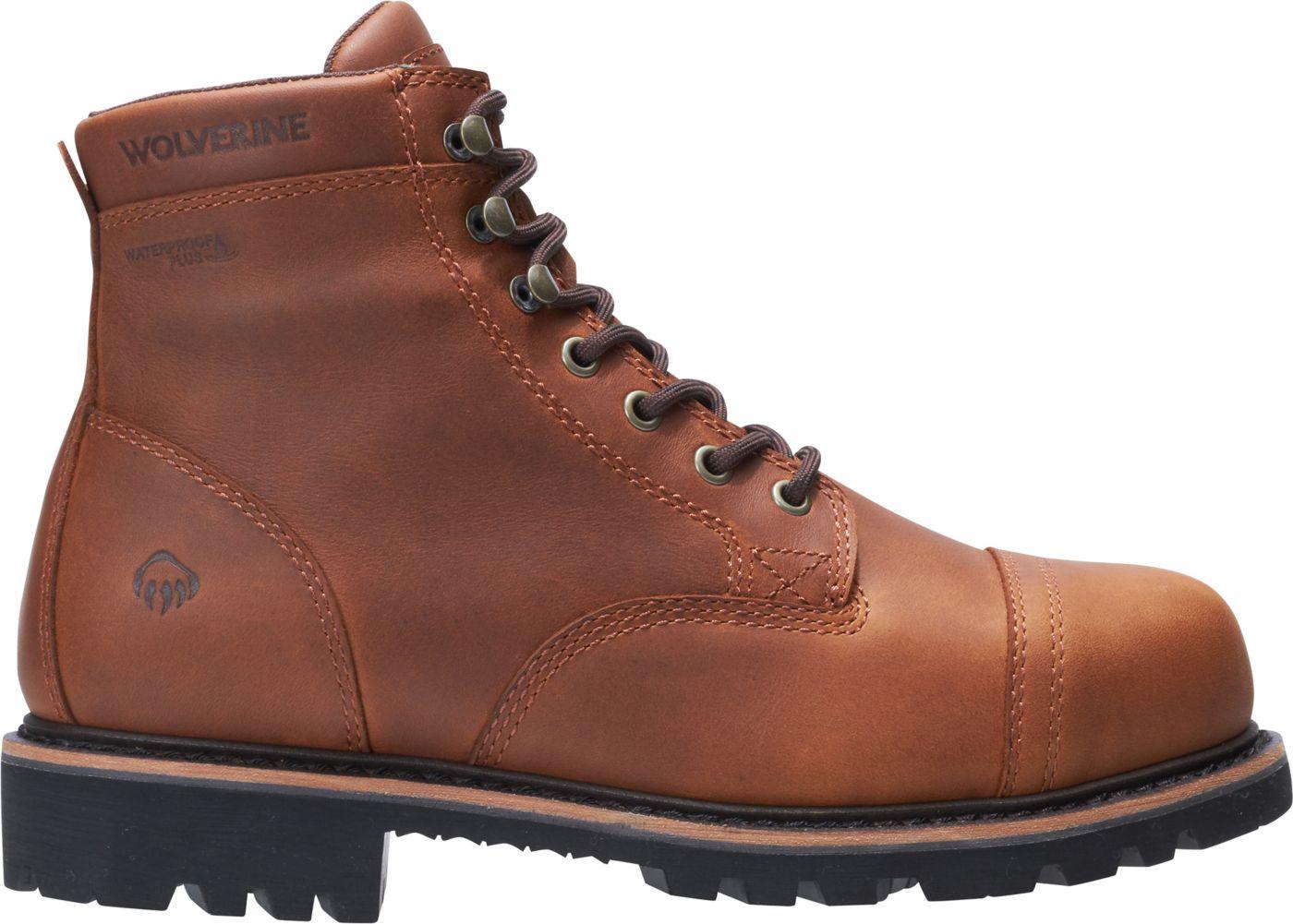 Wolverine Men's Journeyman 6'' Waterproof Composite Toe Work Boots