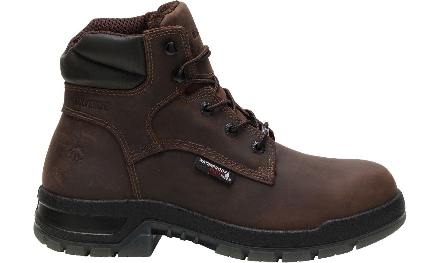 Wolverine Men's Rampart USA 6'' Waterproof Work Boots