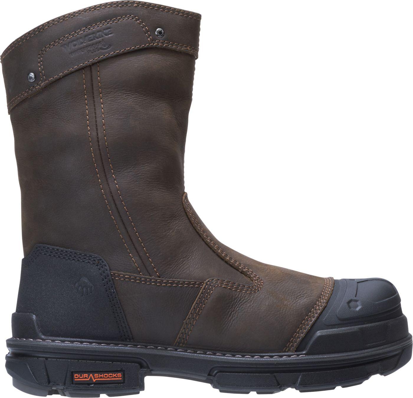 Wolverine Men's Yukon Wellington Waterproof Composite Toe Work Boots