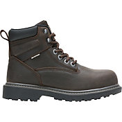 Wolverine Women's Floorhand 6'' Waterproof Steel Toe Work Boots