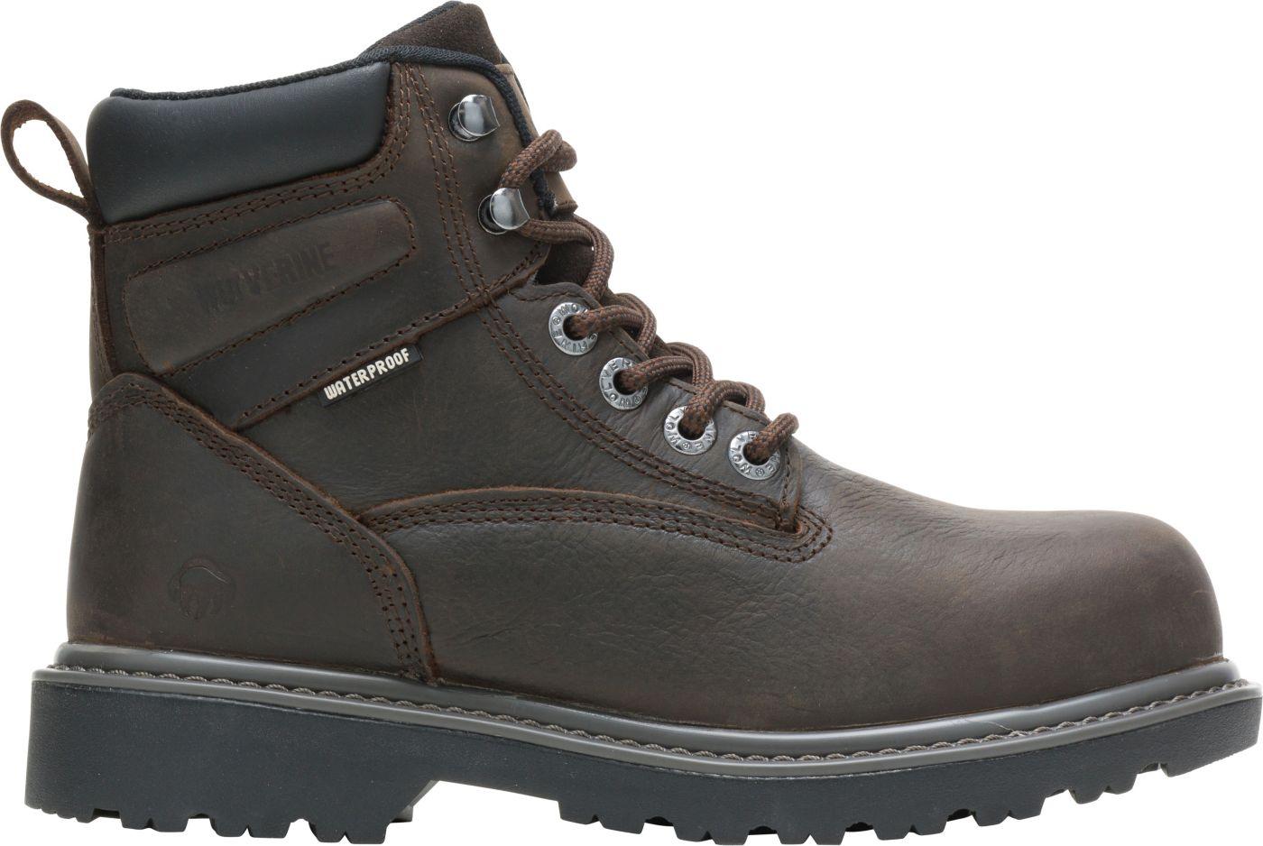 Wolverine Women's Floorhand 6'' Waterproof Steel Toe Work Boots