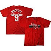 BreakingT Men's 'Mooose' Red T-Shirt