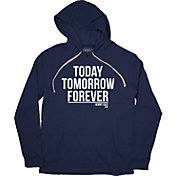 BreakingT Men's 'Today, Tomorrow, Forever' Navy Hoodie