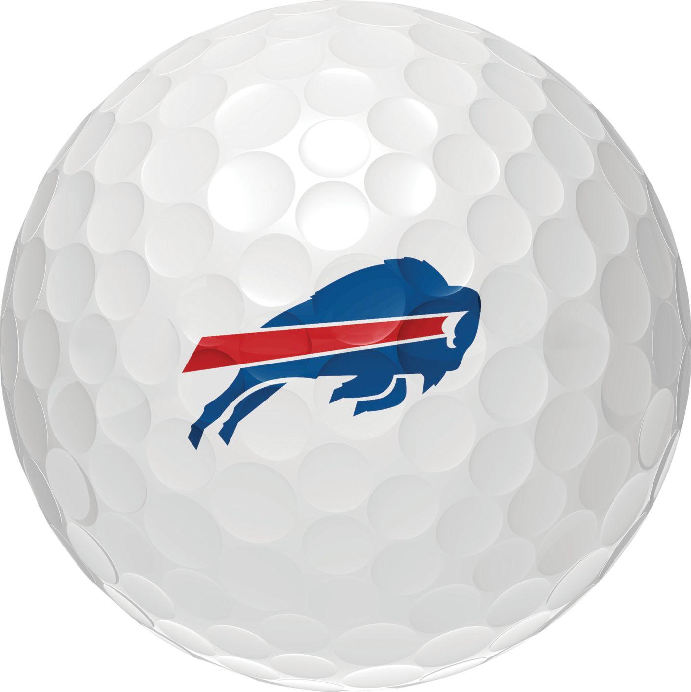 Wilson Staff Duo Soft Buffalo Bills Golf Balls