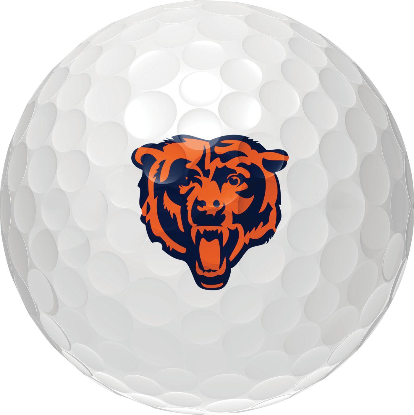 Wilson Staff Duo Soft Chicago Bears Golf Balls