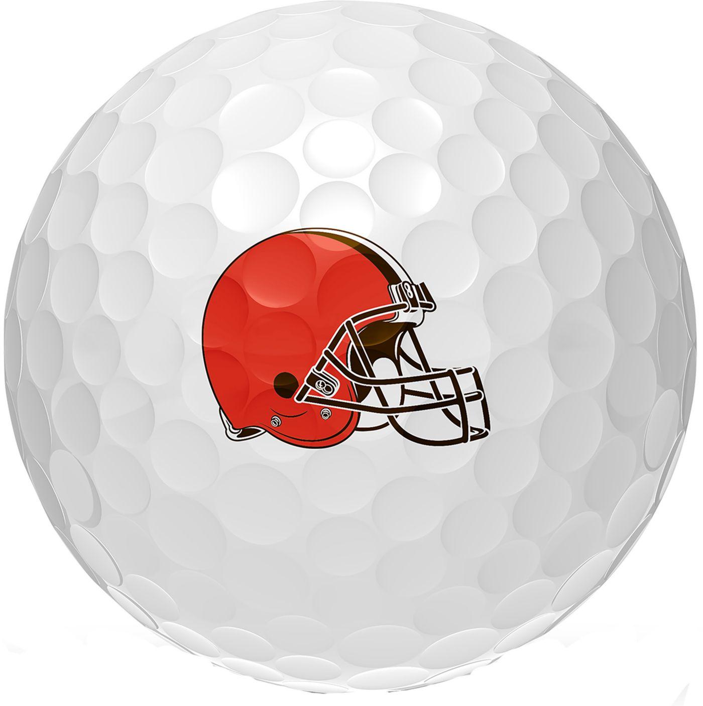 Wilson Staff Duo Soft Cleveland Browns Golf Balls