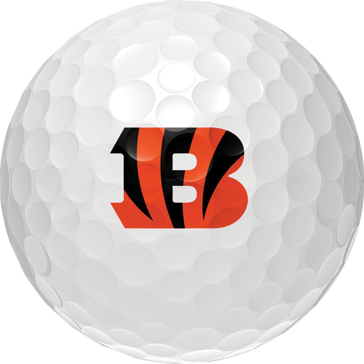 Wilson Staff Duo Soft Cincinnati Bengals Golf Balls