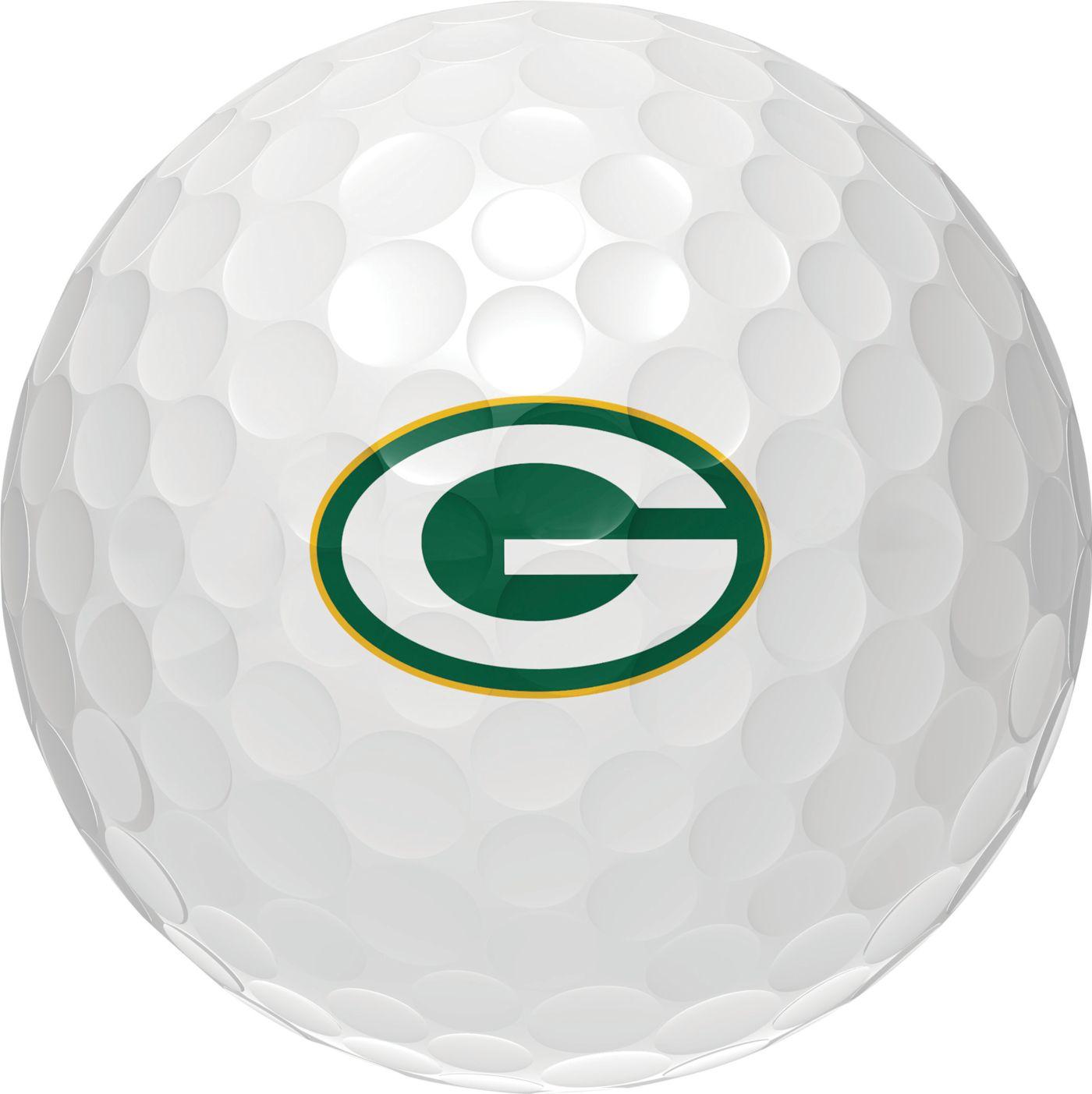 Wilson Staff Duo Soft Green Bay Packers Golf Balls