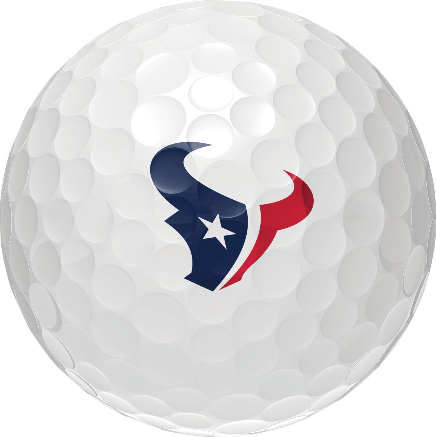Wilson Staff Duo Soft Houston Texans Golf Balls