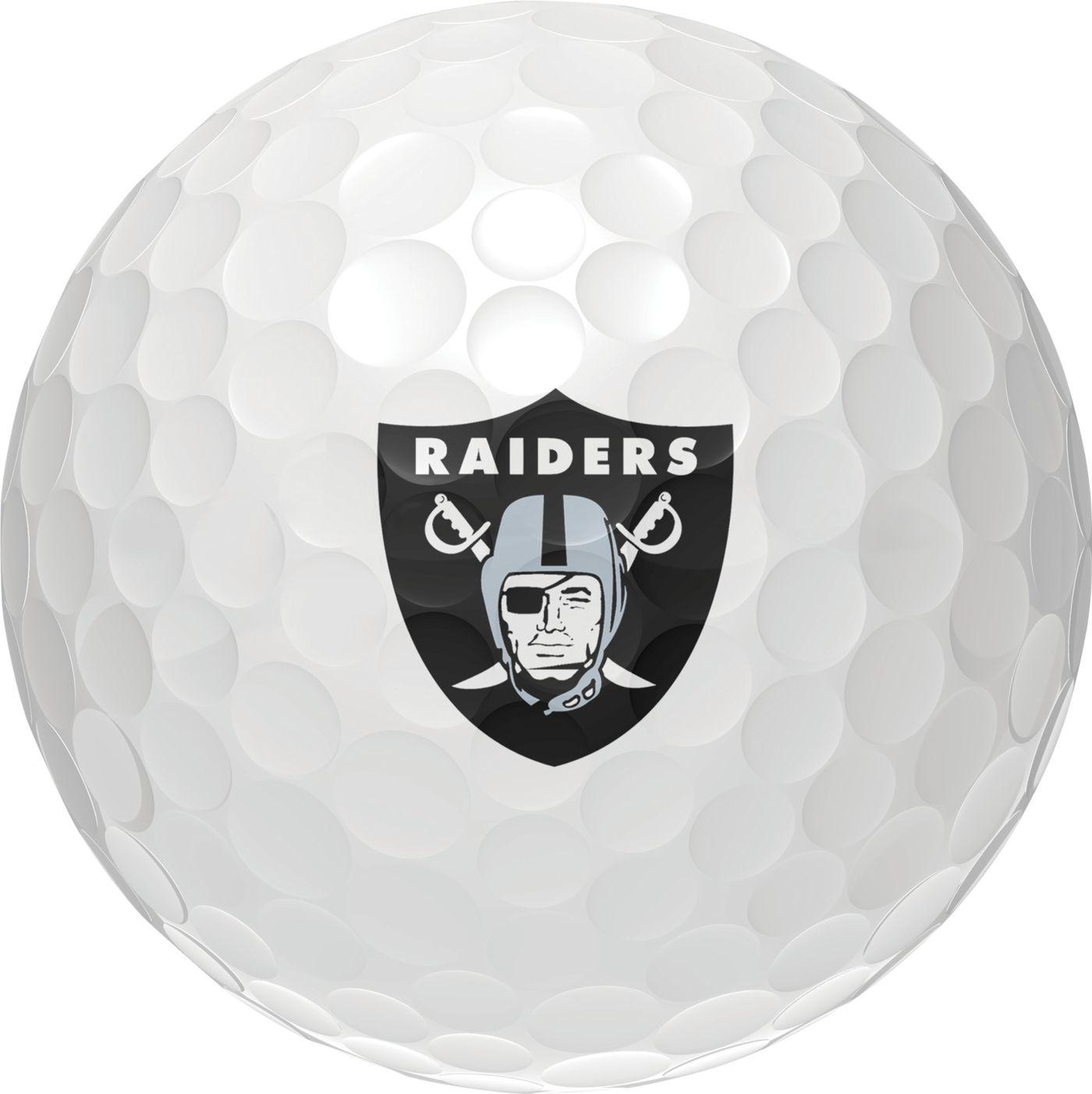 Wilson Staff Duo Soft Oakland Raiders Golf Balls