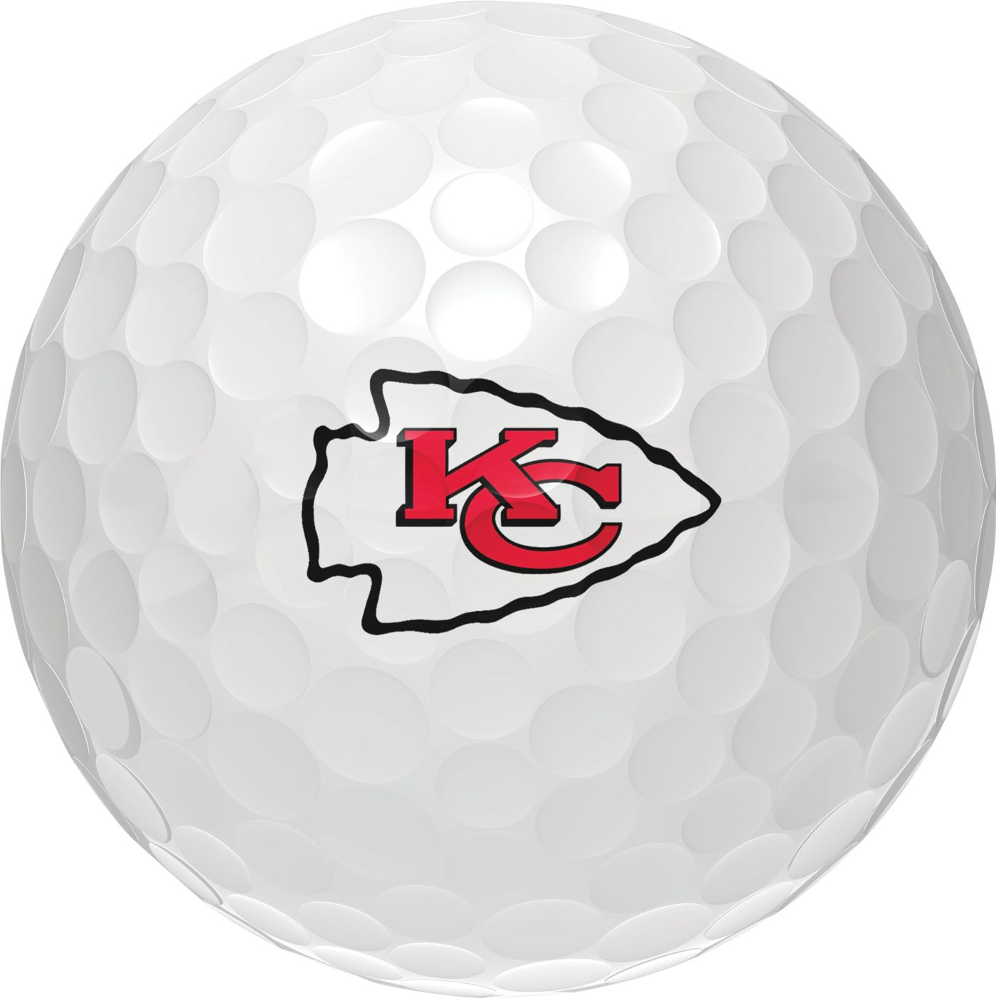 Wilson Staff Duo Soft Kansas City Chiefs Golf Balls