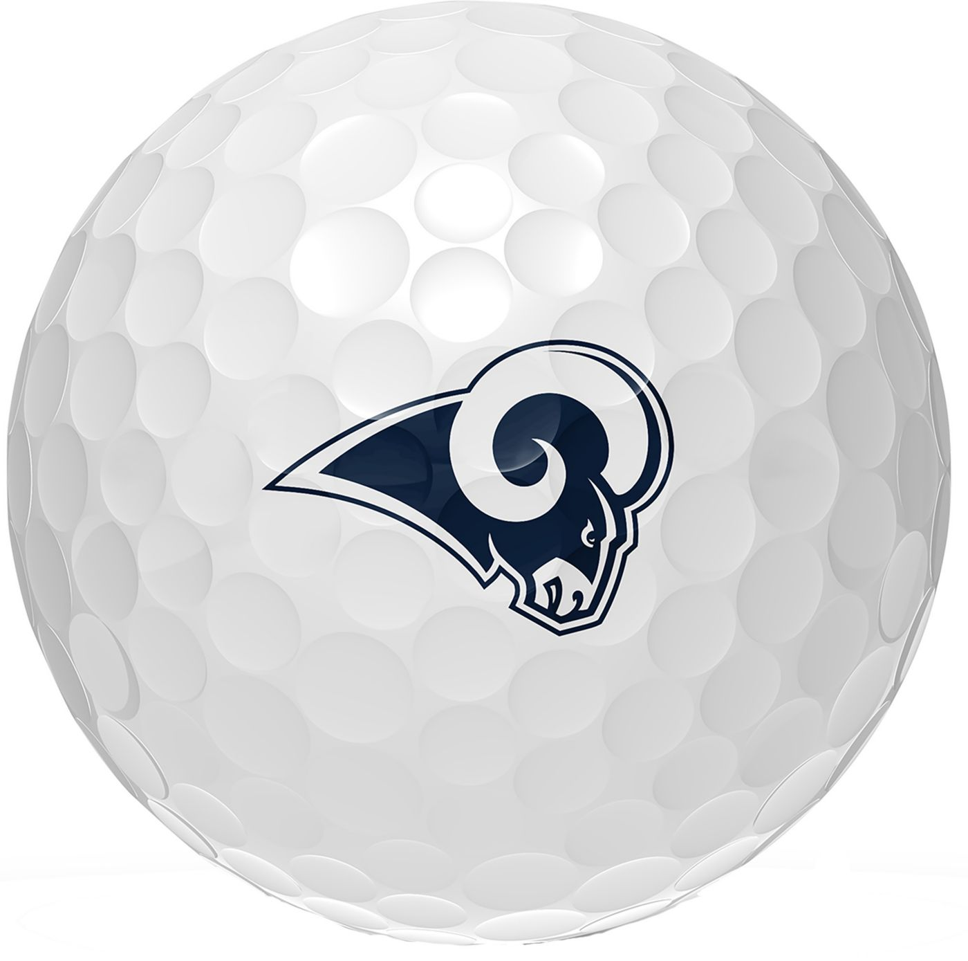 Wilson Staff Duo Soft Los Angeles Rams Golf Balls