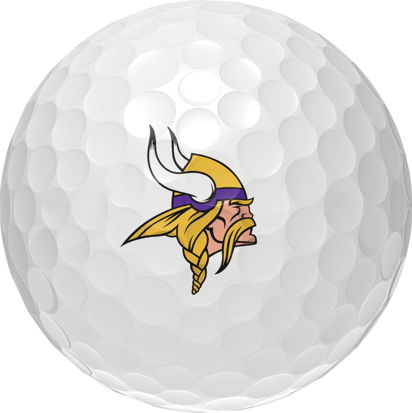 Wilson Staff Duo Soft Minnesota Vikings Golf Balls