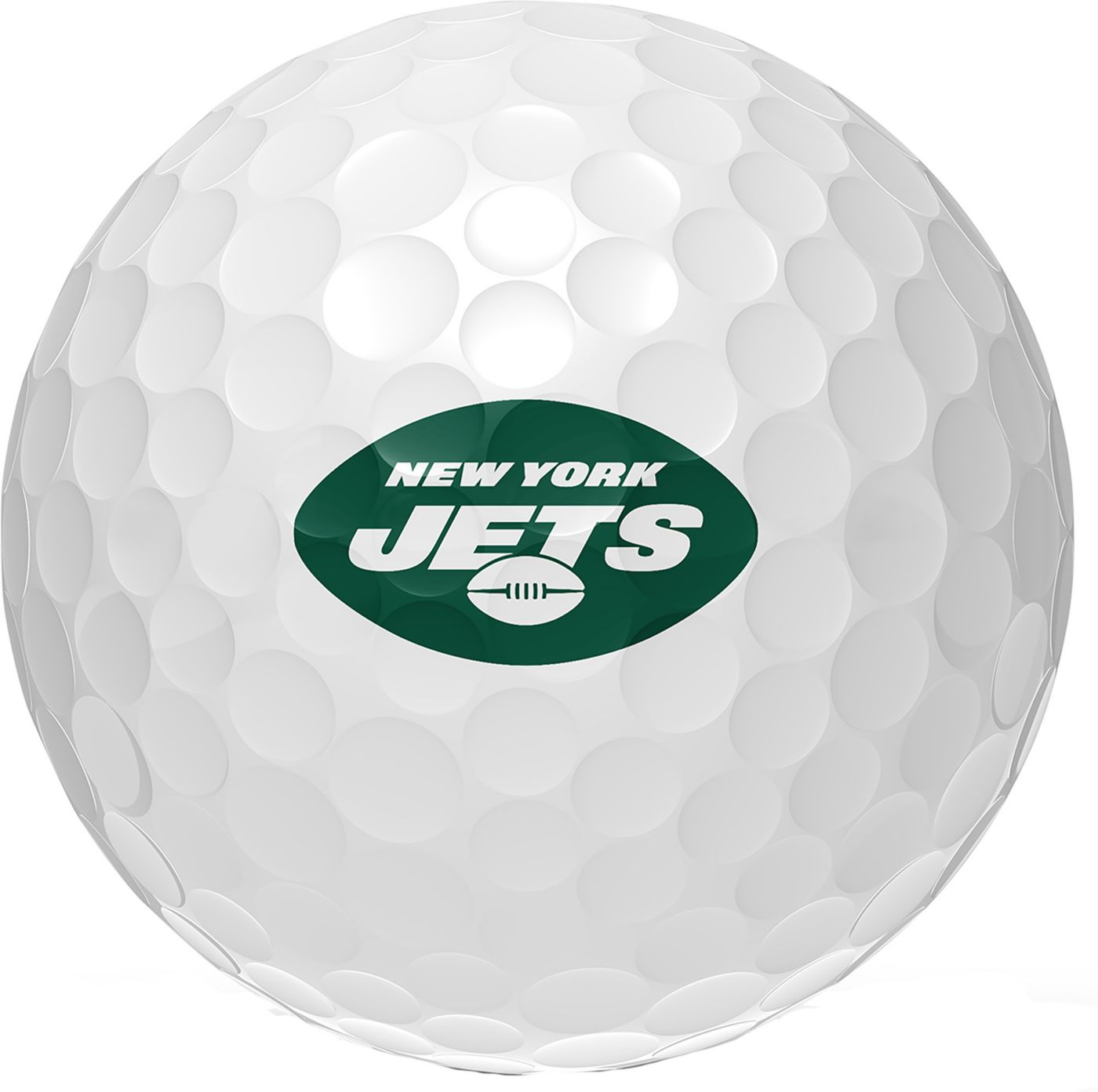 Wilson Staff Duo Soft New York Jets Golf Balls