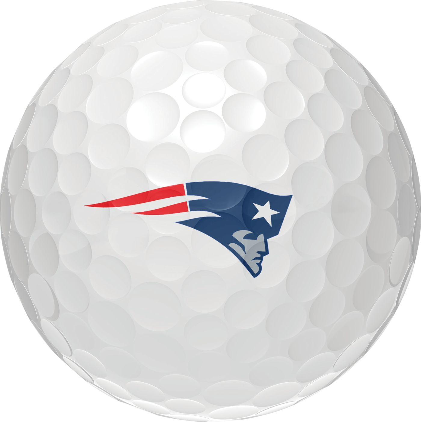 Wilson Staff Duo Soft New England Patriots Golf Balls