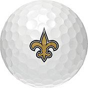 Wilson Staff Duo Soft New Orleans Saints Golf Balls
