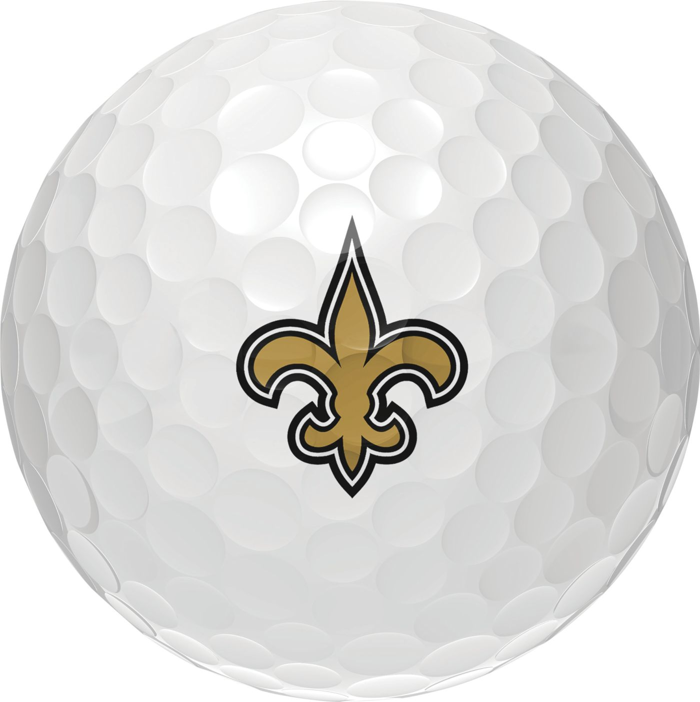 Wilson Staff Duo Soft New Orleans Saints Golf Balls