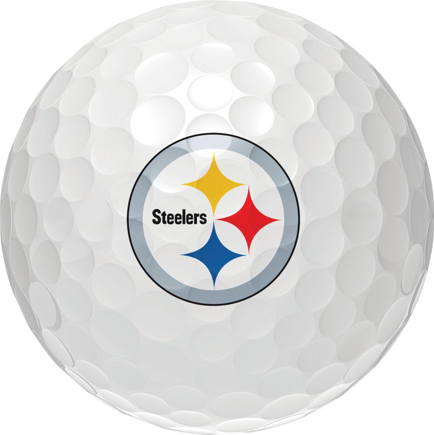 Wilson Staff Duo Soft Pittsburgh Steelers Golf Balls