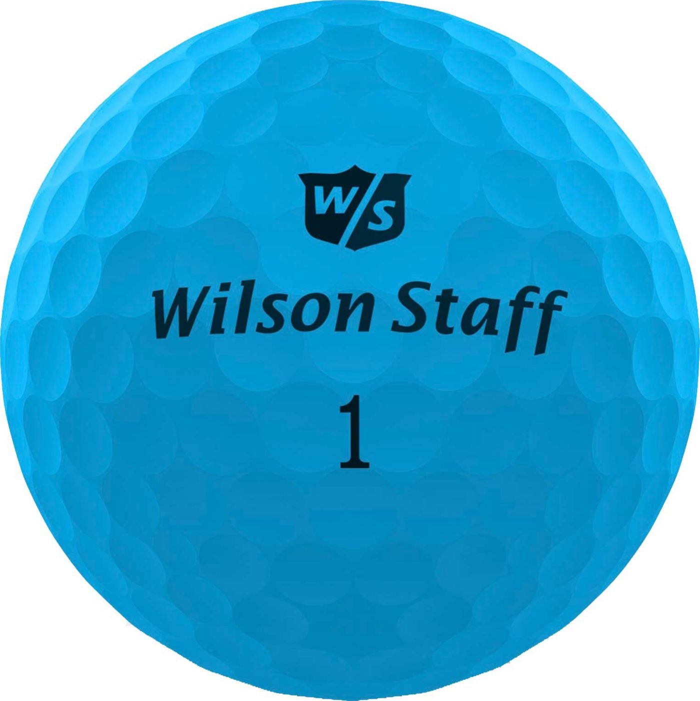 Wilson Staff Duo Soft Optix Blue Personalized Golf Balls