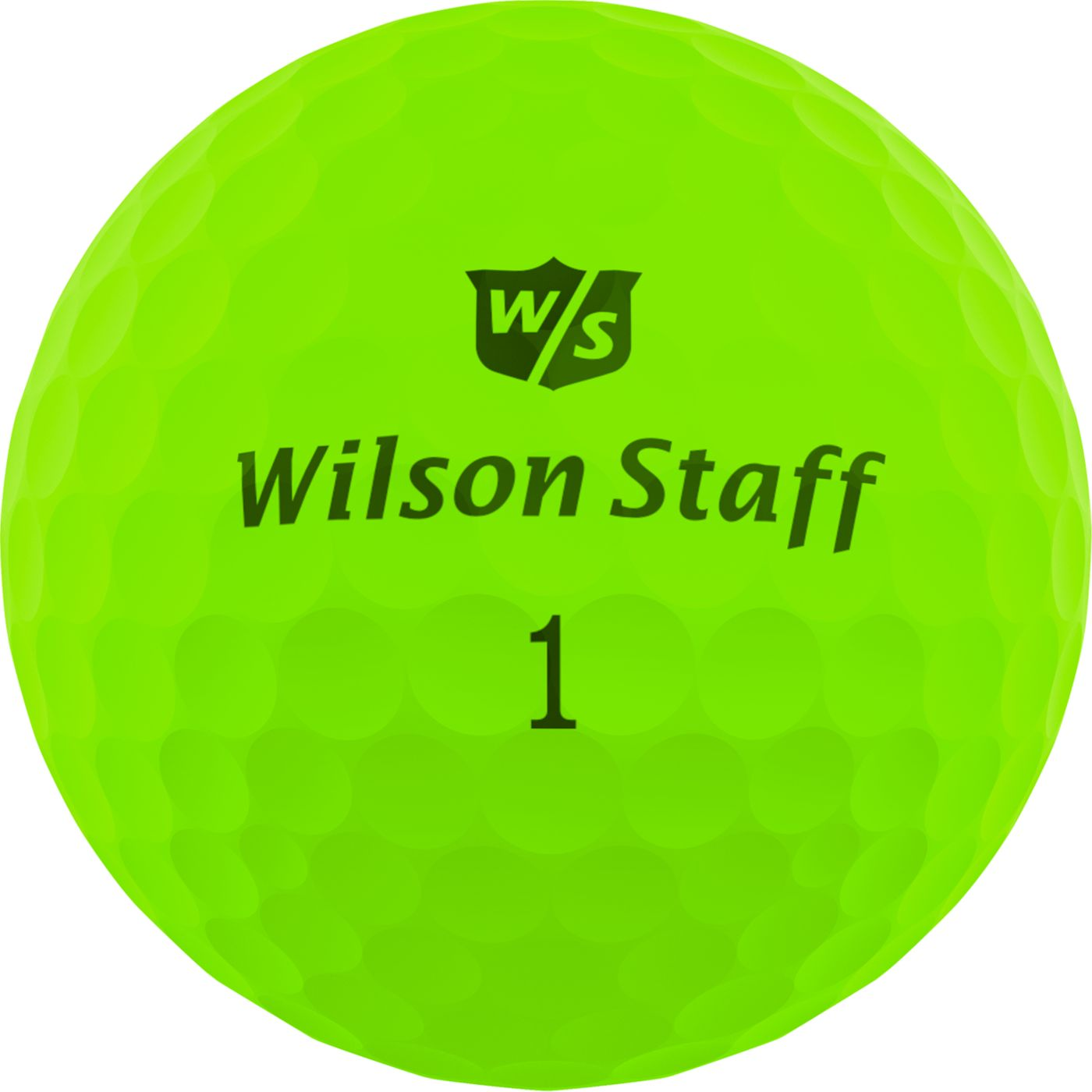 Wilson Staff Duo Soft Optix Green Personalized Golf Balls