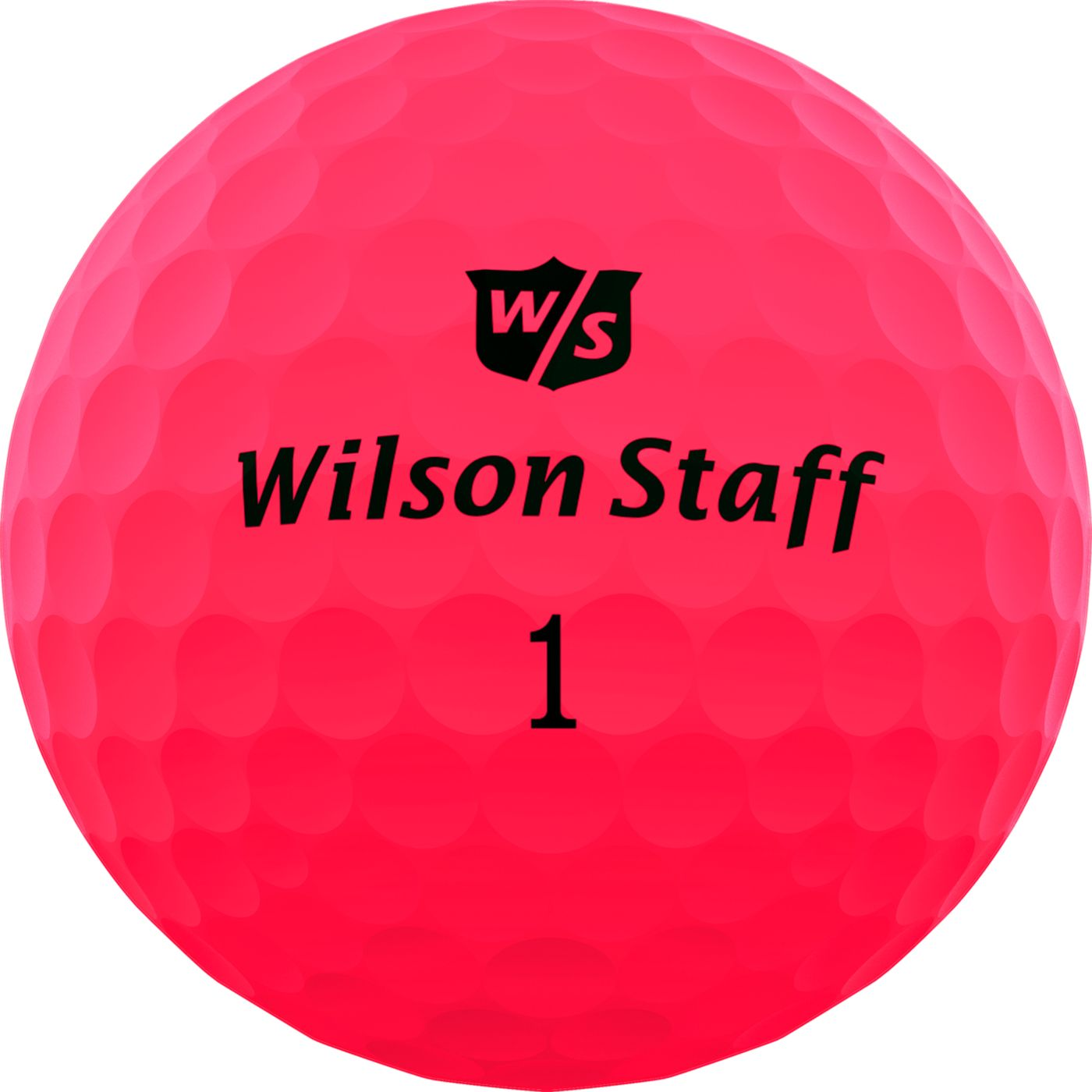 Wilson Staff Duo Soft Optix Pink Personalized Golf Balls