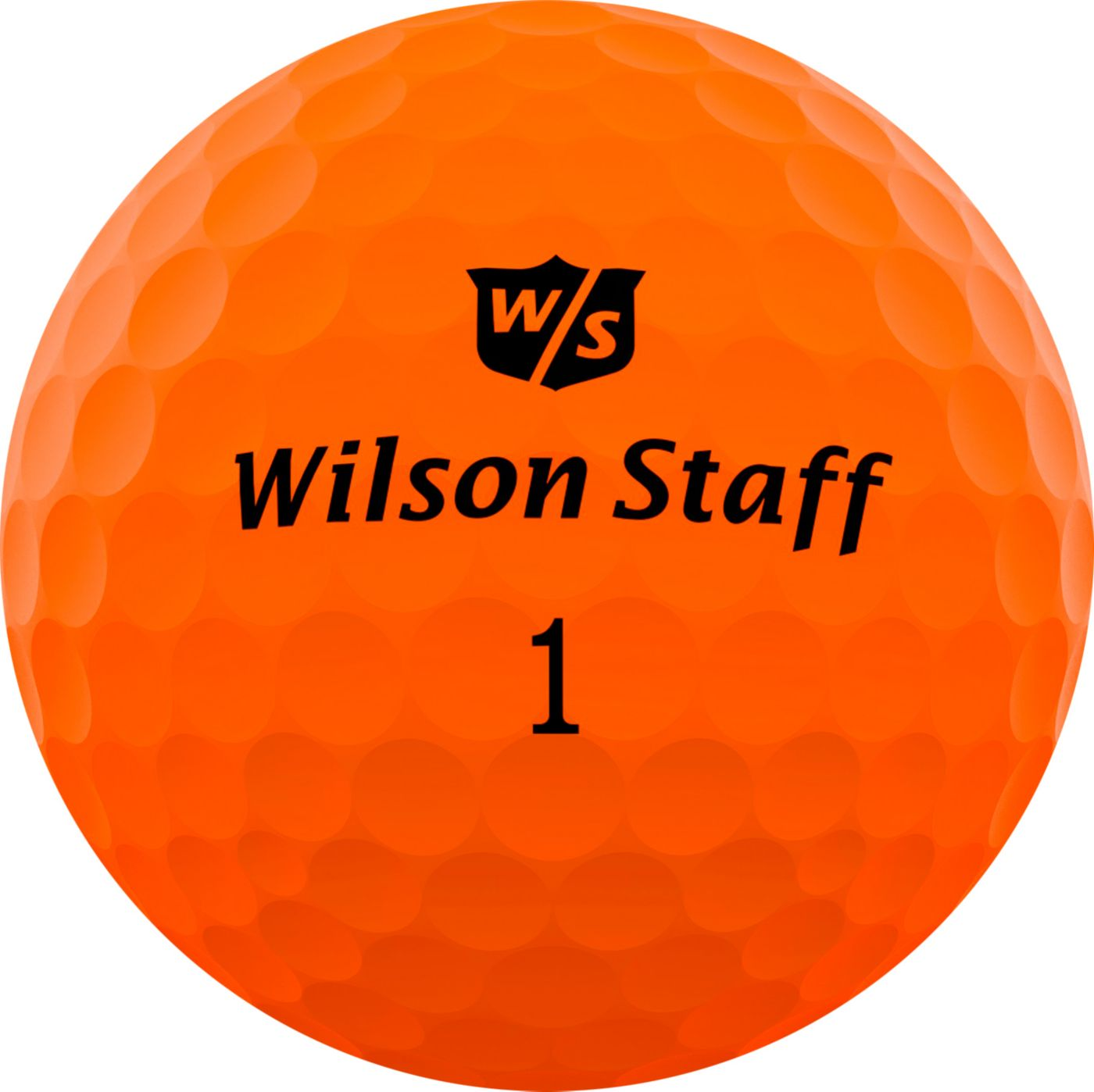 Wilson Staff Duo Soft Optix Orange Personalized Golf Balls