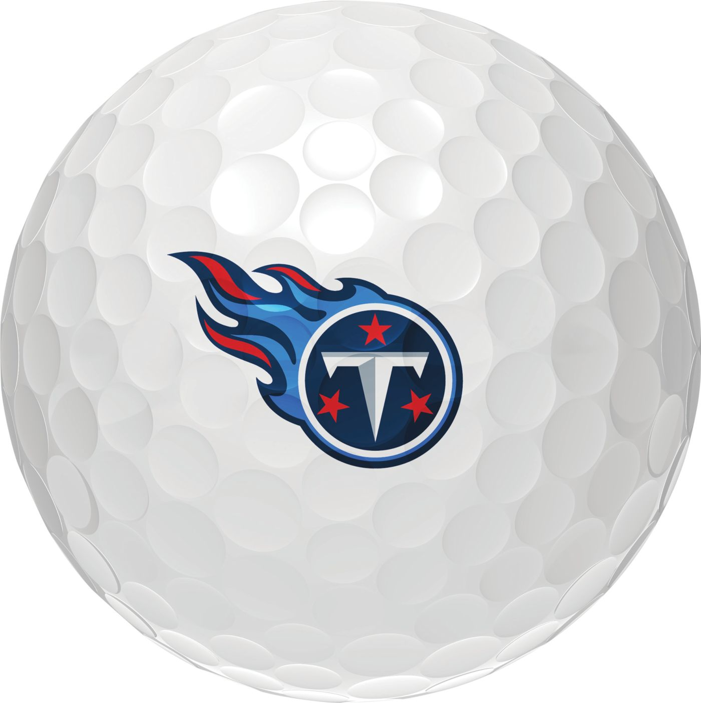 Wilson Staff Duo Soft Tennessee Titans Golf Balls