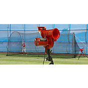 Heater PowerAlley Lite Curve Baseball Pitching Machine & 22' Batting Cage