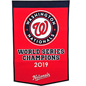 Winning Streak Sports 2019 World Series Champions Washington Nationals Dynasty Banner