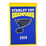 Winning Streak Sports 2019 NHL Stanley Cup Champions St. Louis Blues Championship Banner