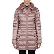 Save The Duck Women's Iridescent High Neck Parka