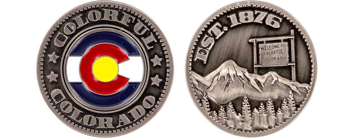 CMC Design Colorado Collector Coin Ball Marker