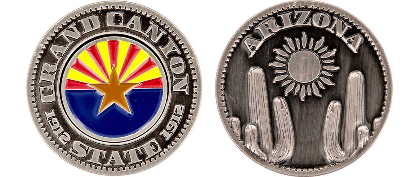 CMC Design Arizona Collector Coin Ball Marker