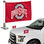 Team Promark Ohio State Buckeyes Car Flag Pair