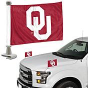 Team Promark Oklahoma Sooners Car Flag Pair