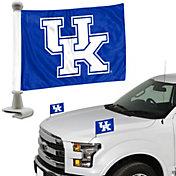 Team Promark Kentucky Wildcats Car Flag Pair