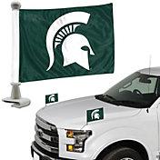 Team Promark Michigan State Spartans Car Flag Pair