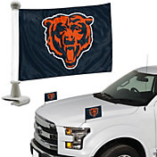 Team Promark Chicago Bears Car Flag Pair