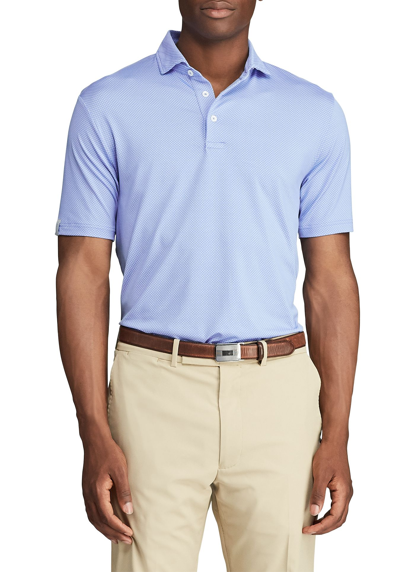 RLX Golf Men's Airflow Golf Polo