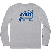 YETI Men's Boarding Bear Long Sleeve Shirt