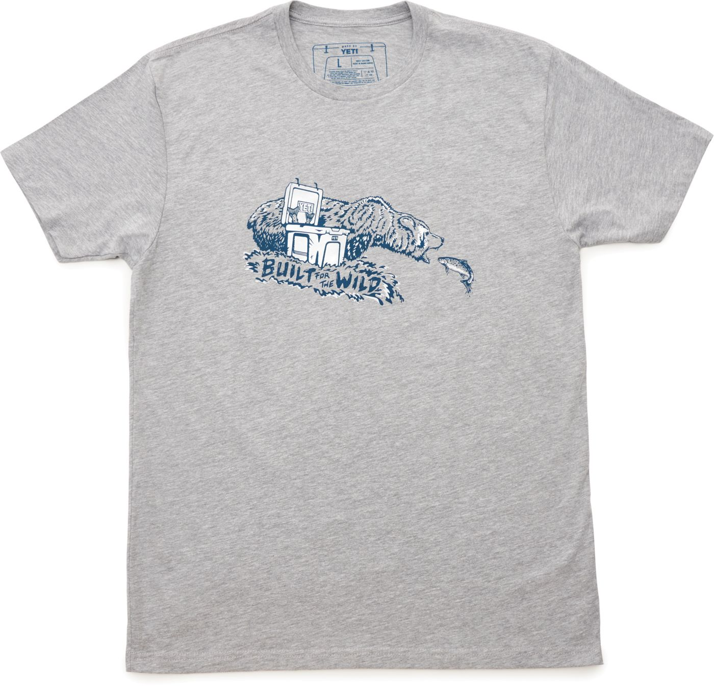 YETI Men's Fishing Bear T-Shirt