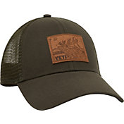 YETI Men's Elk Leather Patch Trucker Hat